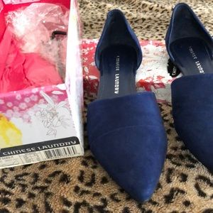 Chinese Laundry royal blue shoes size 8.5